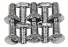 Trans Dapt Performance 9273 Timing Chain Cover Bolts (CHROME)- CHEVY 4.3L V6 or SB Chevy 283-400