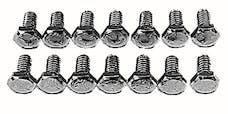 Trans Dapt Performance 9692 5/16 - 18 X 3/4 Grade 5 Transmission bolts; Hex Head (14pcs)-CHROME