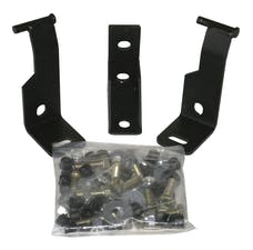 Tuffy Security 045-01 YJ MountingKit for 021-Black