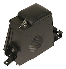 Tuffy Security 055-01 TJ Security Console for Speaker-Black