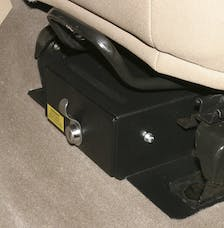 Tuffy Security 250-01 TJ 97-02 CONCEAL CARRY UNDER SEAT SECURITY DRAWER; VHCLES WITH SEAT THAT FLIPS F