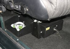 Tuffy Security 256-01 BRONCO 66-77 CONCEAL CARRY UNDERSEAT SECURITY DRAWER (PASSENGER SIDE INSTALL) Fi