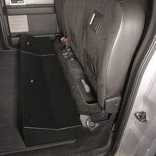 Tuffy Security 283-01 Full width under rear seat lockbox for F-150 2009-Cur Crew cab; without subwoofe