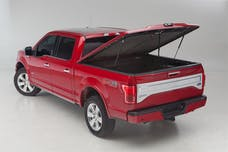 UnderCover UC1118L-G7C Elite LX Tonneau Cover Pull Me Over Red