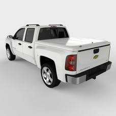 UnderCover UC1066L-50 LUX Tonneau Cover Olympic White/Summit White Paint Code GAZ/WA8624