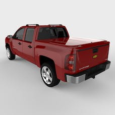 UnderCover UC1066L-74 LUX Tonneau Cover Victory Red Paint Code GCN/WA9260 w/o Factory Bed Rail Caps