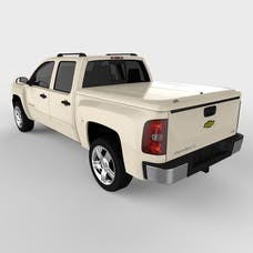 UnderCover UC1066L-98 LUX Tonneau Cover White Diamond w/o Factory Bed Rail Caps
