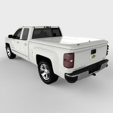 UnderCover UC1126L-50 LUX Tonneau Cover Summit White