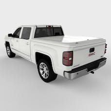 UnderCover UC1136L-50 LUX Tonneau Cover Olympic White/Summit White Paint Code GAZ/WA8624