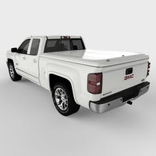 UnderCover UC1146L-50 LUX Tonneau Cover Olympic White/Summit White Paint Code GAZ/WA8624