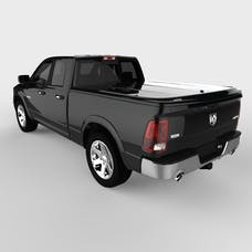 UnderCover UC3076L-PX8 LUX Tonneau Cover Black w/o Bed Rail Storage