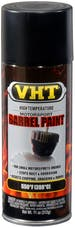 VHT SP906 Barrel Spray Paint - Satin Black Motorcycle/Snowmobile Engine Coating