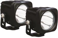 Vision X 9124421 OPTIMUS SQUARE BLACK 1 10W LED 10deg. NARROW KIT OF 2 LIGHTS