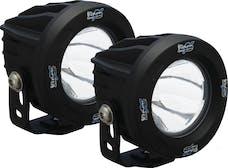 Vision X 9141251 Optimus Series Prime Round Black 1 10w LED 10° Narrow Kit Of 2 Lights