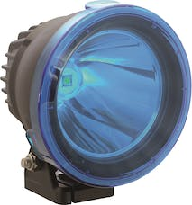 "Vision X 9157184 4.5"" Cannon Light Polycarbonate Cover Blue"