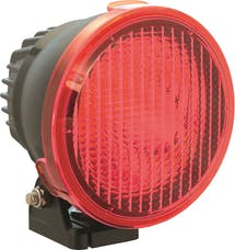 """Vision X 9157634 4.72"""" Cannon Light Polycarbonate Flood Cover Red"""