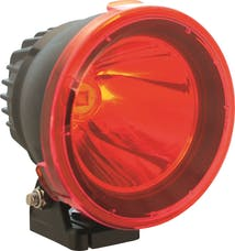 """Vision X 9162492 4.5"""" Cannon Light Polycarbonate Cover Red"""