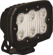 Vision X 9888378 Duralux Work Light 6 LED 40 Degree