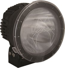 "Vision X 9890081 8.7"" Cannon Lamp PCV Cover Clear Elliptical"