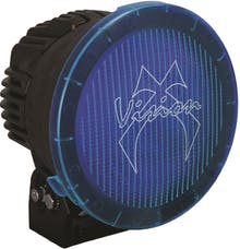 """Vision X 9890111 8.7"""" Cannon PCV Cover Blue Wide Flood"""