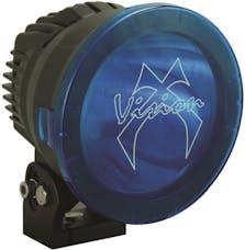 "Vision X 9890609 6.7"" Cannon PCV Cover Blue Elliptical"