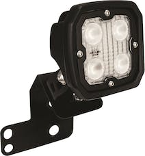 Vision X 6052087 Single Right 2/4 Seat RZR D Pillar Mount And Dura 4 LED 60 Degree Light Kit