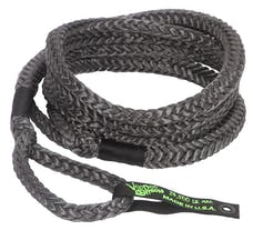 "VooDoo Offroad 1300021 3/4"" x 20' Truck/Jeep Kinetic Recovery Rope, Black, with rope bag"
