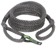 """VooDoo Offroad 1300025 7/8"""" x 20' Truck/Jeep Kinetic Recovery Rope, Black, with rope bag"""