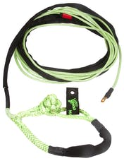 "VooDoo Offroad 1400006 1/4"" x 50' UTV Winch Line with Soft Shackle End, Green"