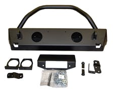 WARN 87600 Rock Crawler Stubby Front Bumper with Tube