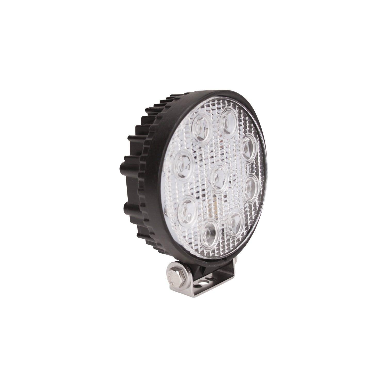 """Westin 09-12006A EF LED Work Utility Light Round 5/"""" Spot w//3W Epistar"""