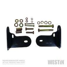 WESTiN Automotive 30-1155 Safari Bull Bar Mount Kit Black