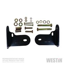 WESTiN Automotive 30-1165 Safari Bull Bar Mount Kit Black