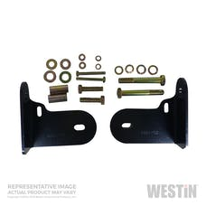 WESTiN Automotive 30-1185 Safari Bull Bar Mount Kit Black