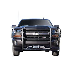 WESTiN Automotive 40-3785 Sportsman Grille Guard Black