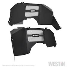 WESTiN Automotive 62-11025 Inner Fenders - Front Textured Black