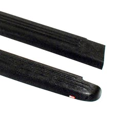 WESTiN Automotive 72-00171 Ribbed Bed Caps without Stake Holes Black
