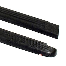 WESTiN Automotive 72-00801 Ribbed Bed Caps without Stake Holes Black