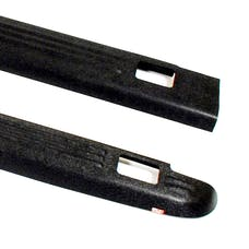 WESTiN Automotive 72-01101 Ribbed Bed Caps with Stake Holes Black