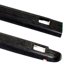 WESTiN Automotive 72-01105 Ribbed Bed Caps with Stake Holes Black