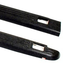 WESTiN Automotive 72-01111 Ribbed Bed Caps with Stake Holes Black