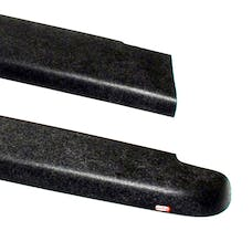 WESTiN Automotive 72-40101 Smooth Bed Caps without Stake Holes Black