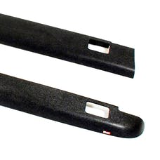 WESTiN Automotive 72-41105 Smooth Bed Caps with Stake Holes Black
