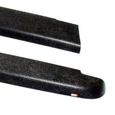 WESTiN Automotive 72-50101 Smooth Bed Caps without Stake Holes Black