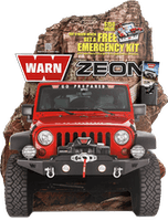JEEP CARDBOARD DISPLAY-40016