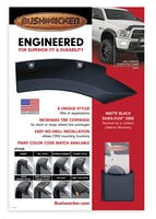BUSHWACKER FENDER FLARES-POP-845