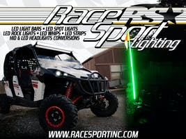 Race Sport Lighting Powersport Vinyl Wall Banner-PSLBANNER