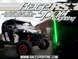 Race Sport Lighting Powersport Vinyl Wall Banner-PSLBANNER