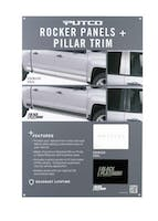 ROCKER PANEL + PILLAR TRIM DISPLAY-97555D