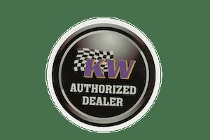 """Window Cling KW Authorized 7"""" x 7""""-9999-004"""